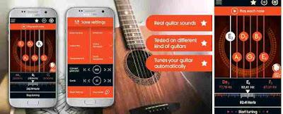 Aplikasi Guru Guitar Tuner