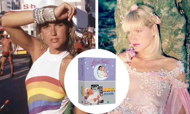 """Filmes """"Super Xuxa"""" e """"Lua de Cristal"""" são relançados em BOX de DVD"""