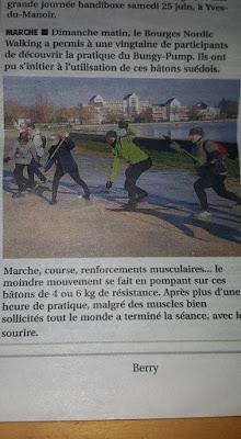 Article dans Berry Bourges Janvier 2016
