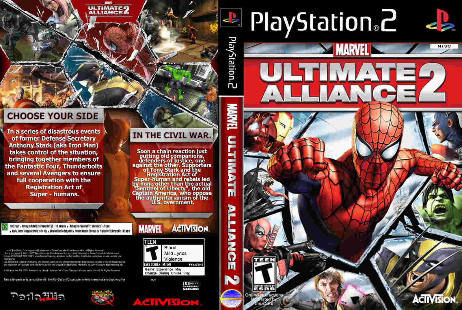 marvel ultimate alliance 2 ps3 iso
