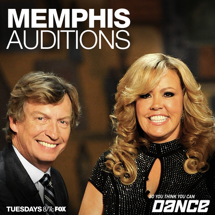 Recap/review of So You Think You Can Dance Season 10 - Memphis Auditions by freshfromthe.com