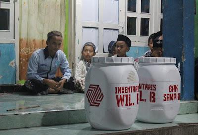 Wujud Syukur, Zrafco Supply Bagikan 6 Tempat Sampah ke Wilayah I'dadiyah Pondok Pesantren Nurul Jadid