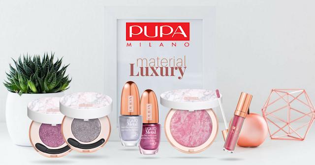Pupa Material Luxury | Limitalt tavaszi kiadas