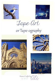 A Look at tape art or tape-ography