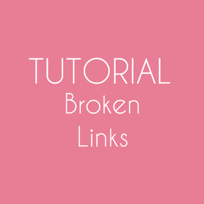 Tutorial : Remove Broken or Dead Link dalam Blog