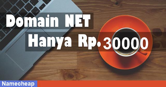 Review : Domain Murah dari Namecheap NET - Harga Hanya $ 3,88 Untuk Tiga Hari Saja!
