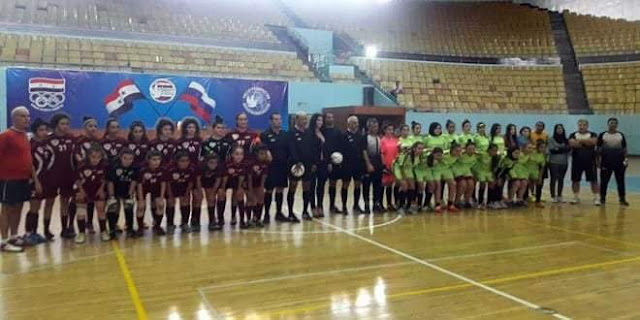 فريق العربي يحرز لقب بطولة كأس الجمهورية بكرة القدم للصالات لفئة السيدات