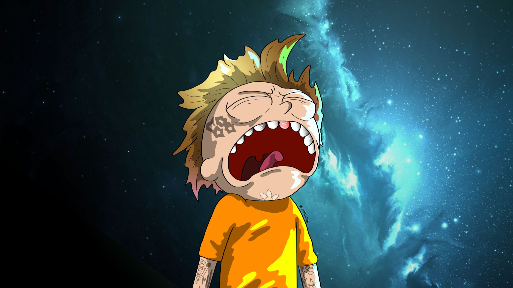 Crying Morty