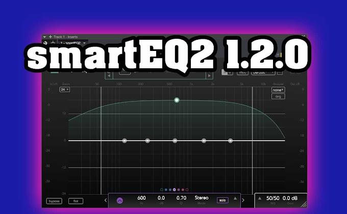 smartEQ2 1.2.0 Sonible - VST, VST3, AAX x86 x64