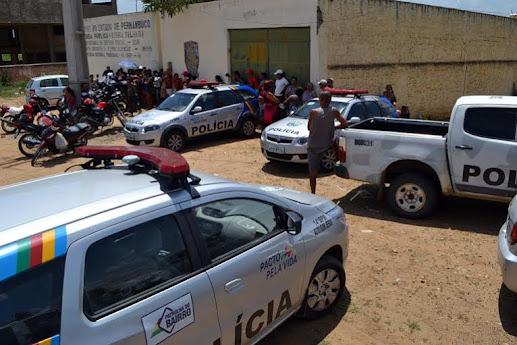 Fuga em massa de presos da cadeia publica  causa tensão nos moradores de Serra Talhada no sertão do estado