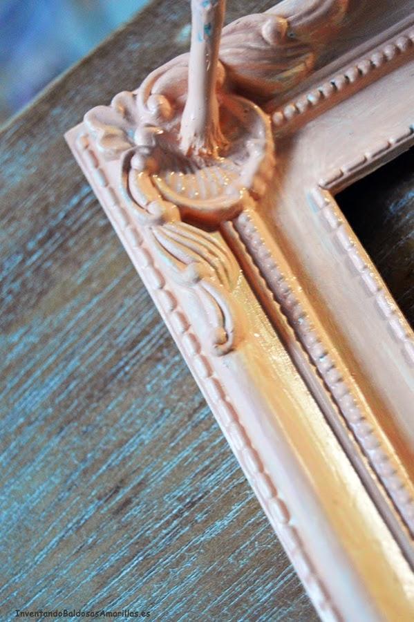 Tutorial decorar marcos vintage