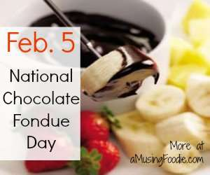 National Chocolate Fondue Day Wishes Images