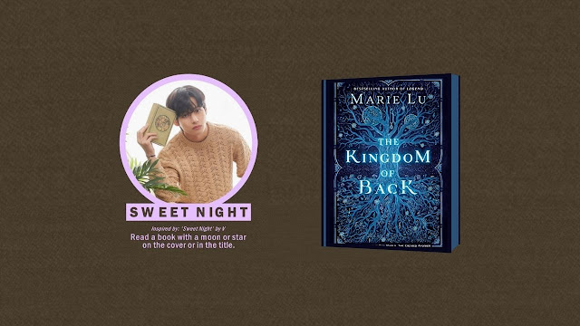Kim Tae Hyung SWEET NIGHT Prompt - Read a book with a moon or star on the cover or in the title.