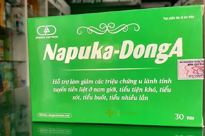 Napuka DongA, dùng cho người bị u nang, u xơ