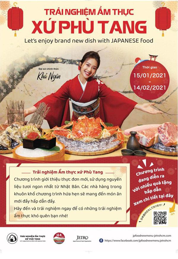 """Sự kiện """"Trải nghiệm ẩm thực xứ Phù Tang""""- nơi hội tụ nhiều món ăn Nhật Bản mới lạ"""