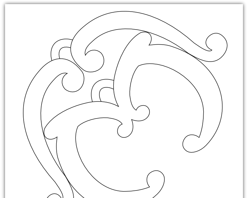 Imaginesque Curly Pattern