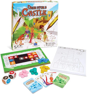 Componentes de Once Upon a Castle the board game