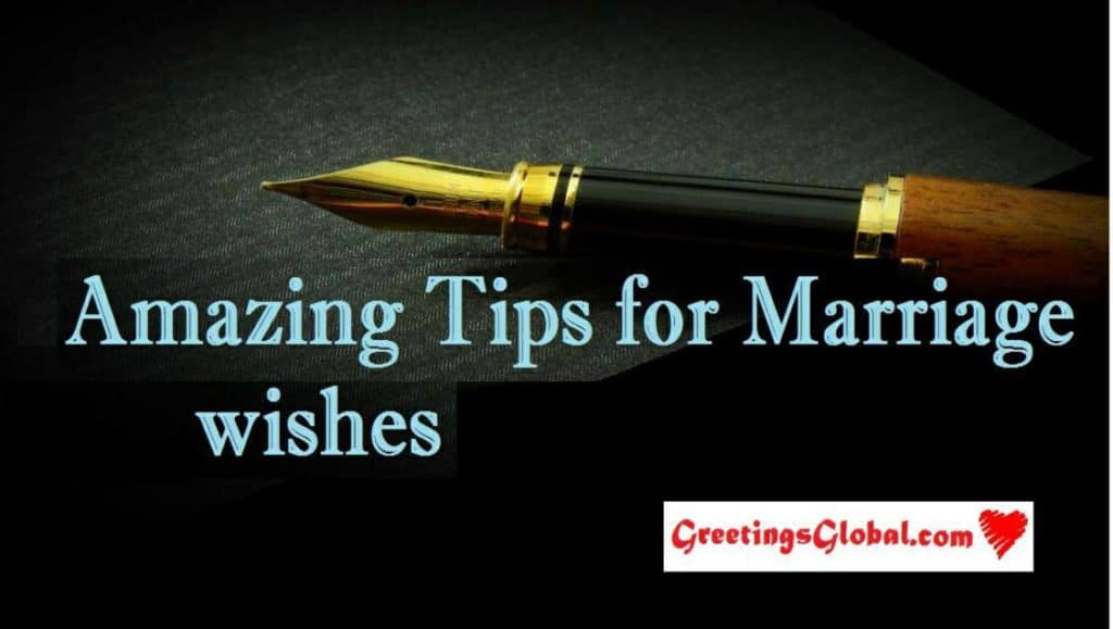 How to write Marriage wishes in English, very very important tips poster images
