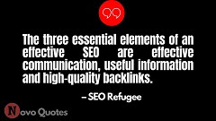 Quotes on SEO