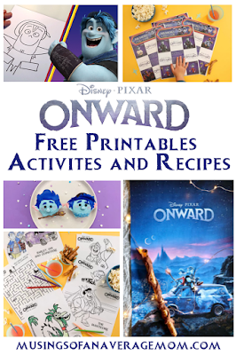 Onward free printables
