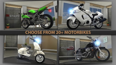 Traffic Rider v1.1.2 Mod Apk-screenshot-4