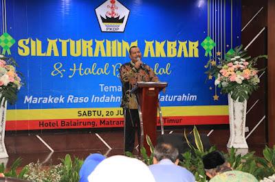 Silaturahim Akbar,  PKDP Pusat Dukung Pembangunan Piaman Laweh