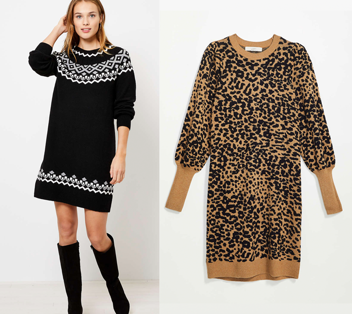 gift ideas for her, sweater dresses