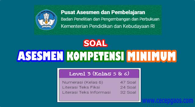 Contoh Soal Akm Online Level 2 Kelas 3 Dan 4 Sd Cecepgaos