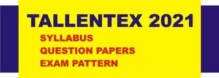 Tallentex syllabus for 2021