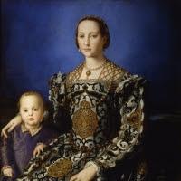 'Leonor de Toledo amb el seu fill Giovanni de Mèdici (Bronzino)'