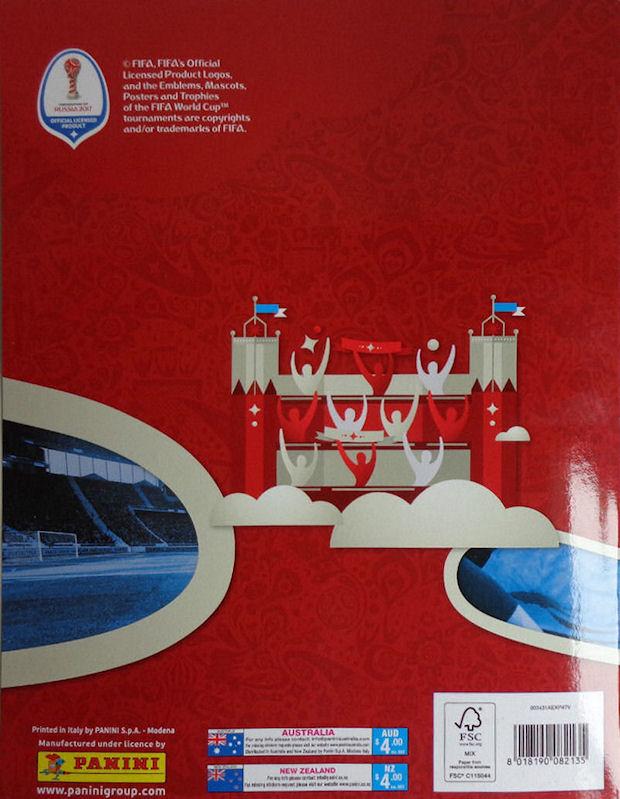 Football Cartophilic Info Exchange Panini FIFA