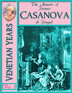 novel, casanova, fiction, erotica, Jacques Casanova de Seingalt, Arthur Machen, biography