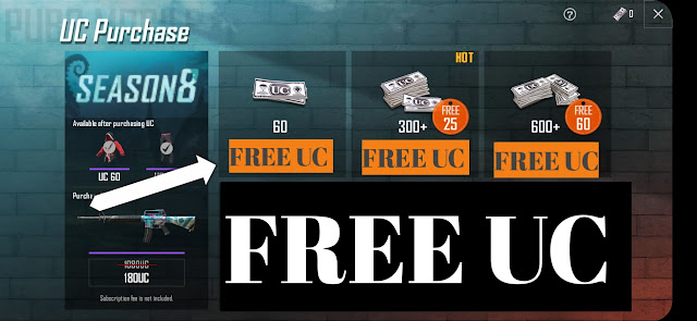 Free Uc In Pubg Mobile Android   how to get free uc in pubg mobile android Hindi 2019