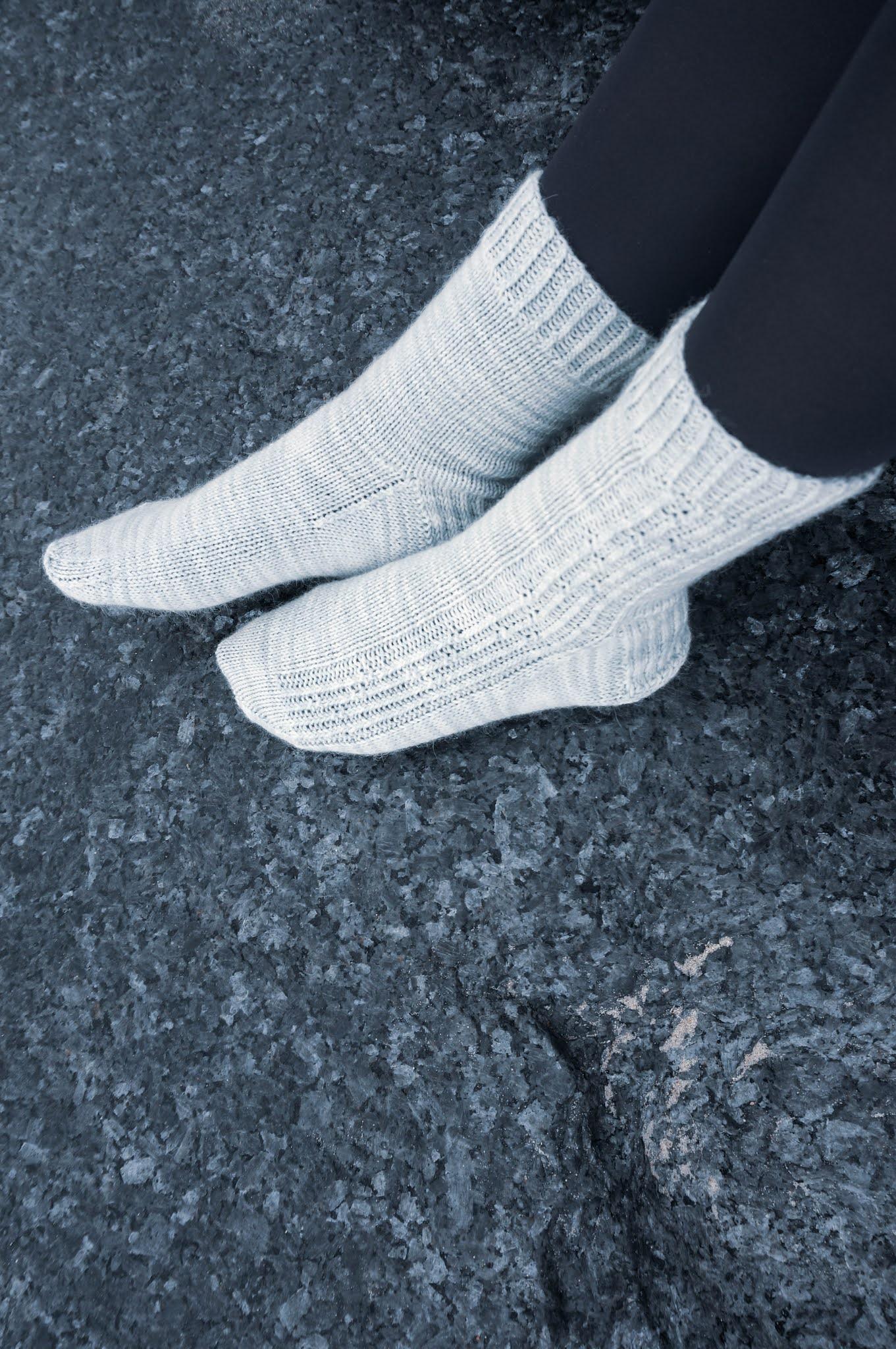 West Beach Knits Larvikite Socks knitting pattern