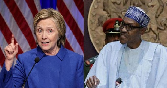 Hillary Clinton Laments On President Buhari And Nigerian Army To Stop Killing Young Nigerians