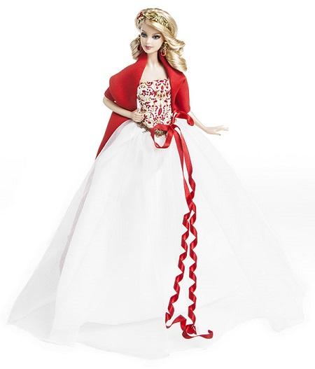 Barbie Coleção Feliz Natal 2010