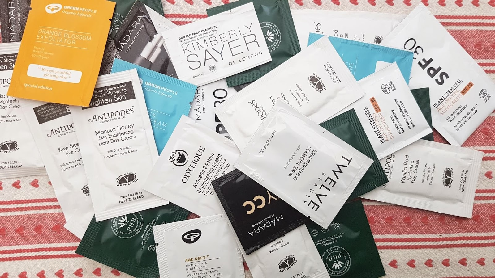 Plastic Waste - Beauty Sample Sachets
