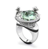Silver Green Amethyst