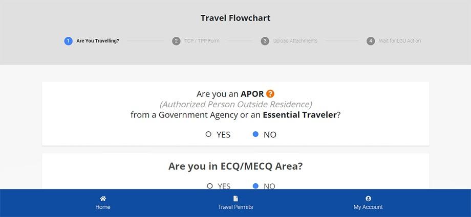 S-PaSS travel questionaire