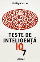 """Castiga 5 volume """"Teste de inteligenţă IQ-7"""" de Philip Carter"""
