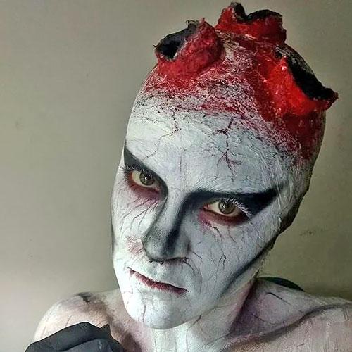 disfraz de muerto para la noche de halloween