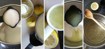 Zubereitung Zitronensirup