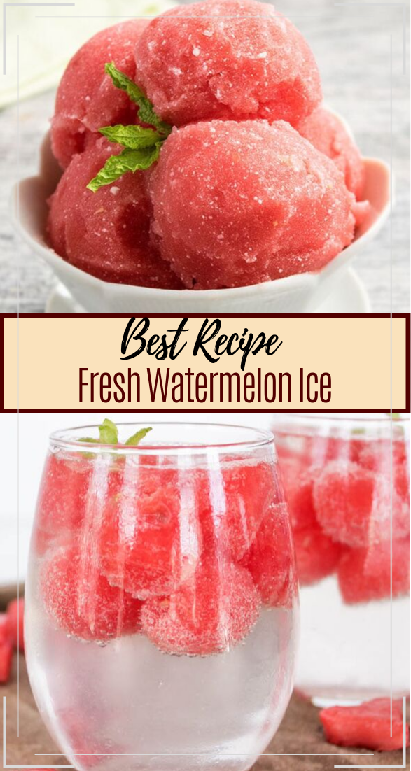 Watermelon Ice  #healthydrink #easyrecipe #cocktail #smoothie