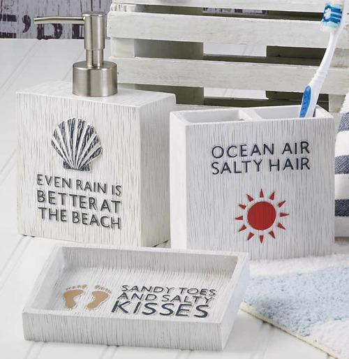Beach Quotes Bath Accessories
