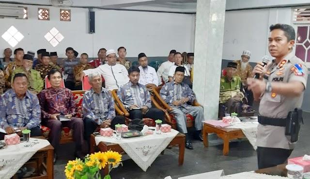 Kapolres Lampung Utara Jadi Narasumber di Acara Pembinaan kerukunan Beragama