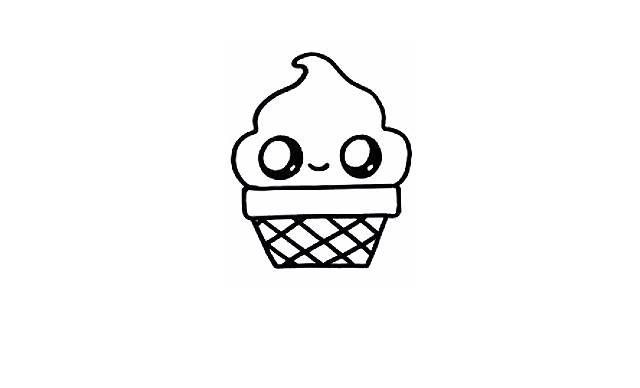 dibujos faciles y bonitos de helados de hielo
