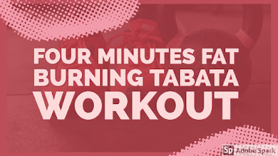 FAT BURNING WORKOUT (four minute workout for weight loss)