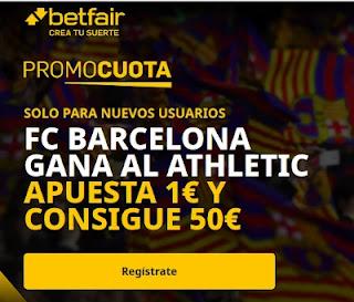 betfair promocuota Barcelona gana al Athletic 17-4-2021