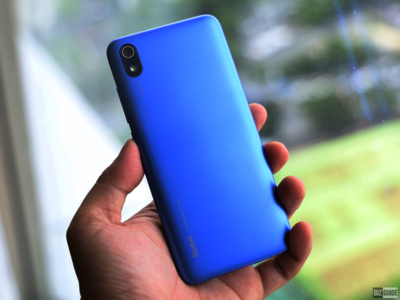 The polycarbonate body is a stylish choice for Redmi 7A