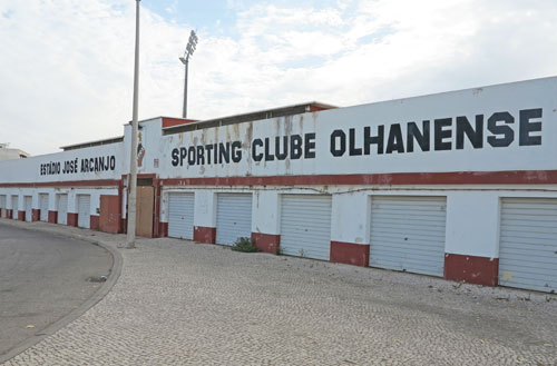 Olhanense, Estadio Jose Arcanjo.